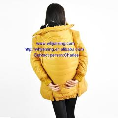 J& M maternity down jacket