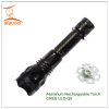 Self-defense torch Multifunction Aluminum Rechargeable LED Torch CREE