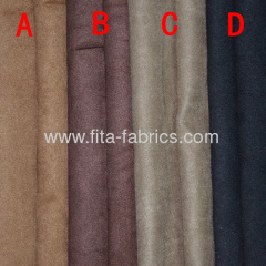 100% polyester synthetic suede plain dyed