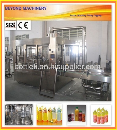 Juice Filling Machine/ Hot Filling Machine For Producing Juice And Tea Drinks