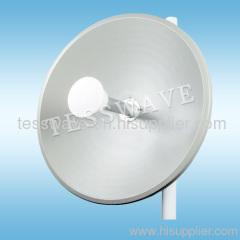 4.9-5.8GHz 34dBi high gain dual polarity MIMO Dish antenna