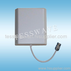 2.4ghz 10dbi indoor directional wall mount panel wifi antenna