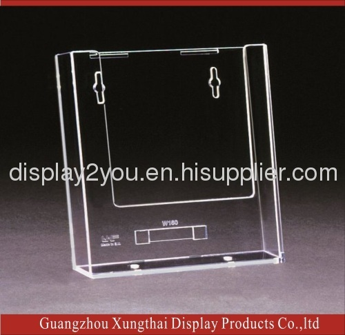 Wall Mounted Acrylic Leaflet Display Holder