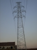single circuit transmission tower