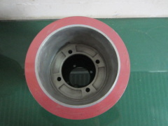 Aluminum drum rice mill rubber roller for paddy husker