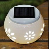 solar outdoor table lamp