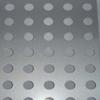 Punching round hole Perforated Metal Sheet