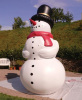 blow up snowman huge inflatables Christmas decoration
