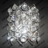 crystal sconces, crystal wall sconce