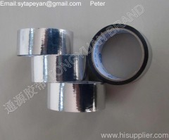 Metallized BOPP adhesive tape/aluminum coated for HVAC industry