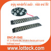 "19"" 2U 48 ports BNC female to female patch panel bulkhead mount"