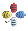 tropical fish shape dynamo mini flashlights