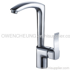 Brass Single Kitchen Faucet