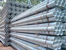 hot rolled galvanized steel pipe struckture tube