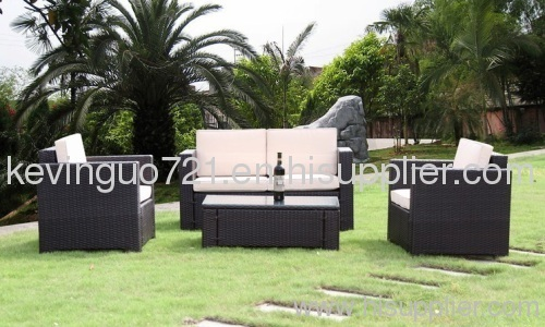 Outdoor Rattan Patio Garden Sofa Set