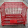 Foldable Mesh Box/Folding Storage Cage