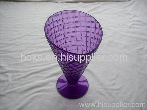 purple popular plastic ice cream cups
