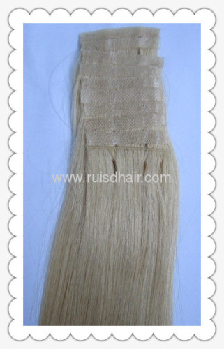100% SKIN PU WEFT GOOD QUALITY HAND TIED REMY HAIR PU WEFT