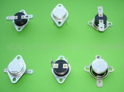 Automatic Reset Bimetal Thermostat, Snap Action Thermostat Temperature Switch