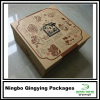 27 x 27 x 14 cm Square kraft paper Rigid gift boxes with two layers inside