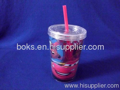durable Plastic Straw Cups