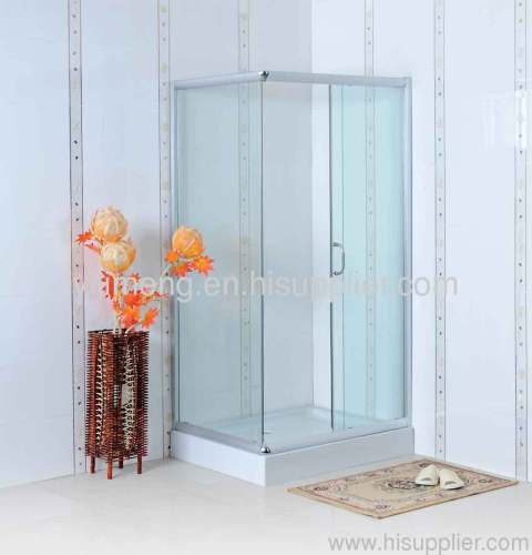 Rectangular Shower Enclosure with Clear Glass