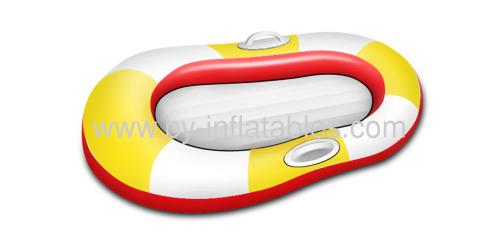 PVC inflatable boat for child play