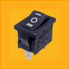 black on-off-on rocker switch