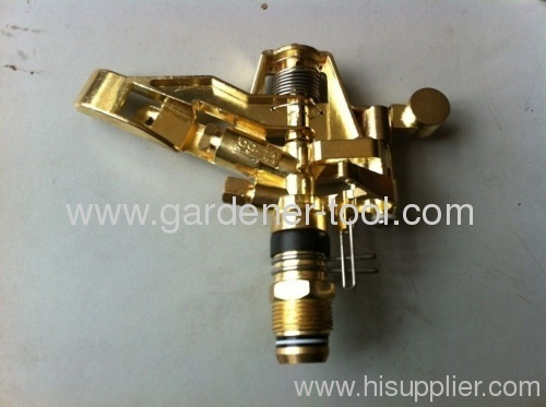 Brass Water Impulse sprinkler For Agriculture