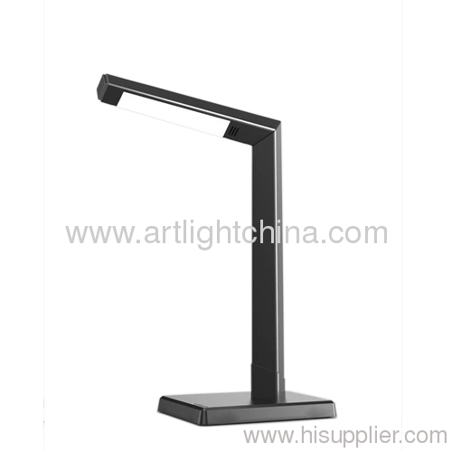 6W Metallic Silver Led Office Decorative Lamp