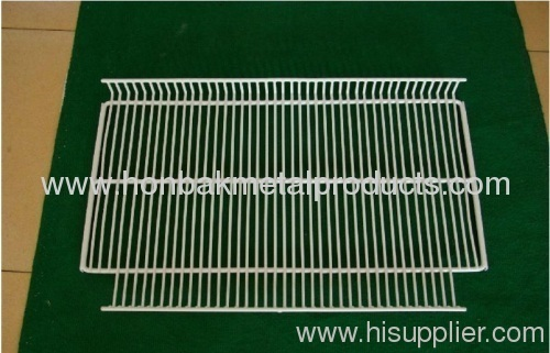 Refrigerator Rack/pvc coated steel rack/Professional Factory/HOT/White coated