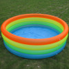 4 rings inflatable kid swim pool