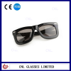 Vintage Celeb Style Large Black Frame Shades Oversized Sunglasses