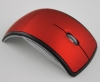 mini optical usb mouse 2.4g wireless folding mouse super slim wireless mouse