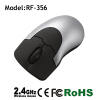 Rubber key 2.4Ghz wireless optical usb mouse