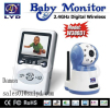 2.5 inches wireless two way speak night vision baby monitor