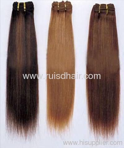 High quality 100% Remy hair clip on hair extension