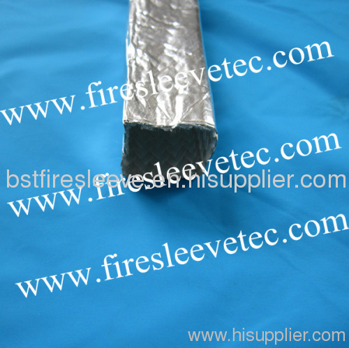 Heat reflect Aluminized Fiberglass Sleeving