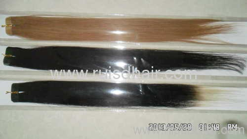 cheap tape remy hair extension various textures
