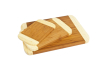 Beautiful profile bamboo chopping board