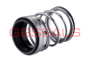 Single spring mechanical pump shaft seals