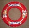 Inflatable PVC ring for kid swimming