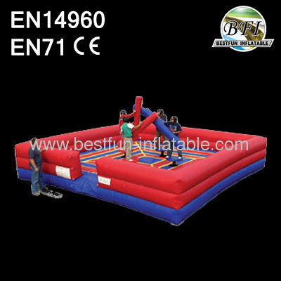 Adult Outdoor Inflatable 4 Man Joustman