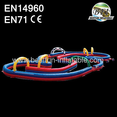 Bathtub Inflatable Race Track For Zorb Ball
