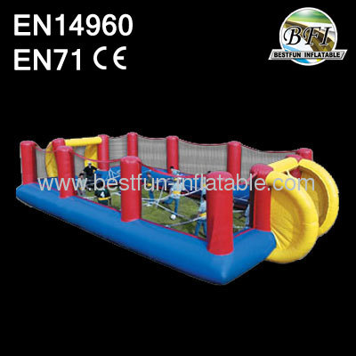 Commercial Interactive Game Inflatable Human Foosball