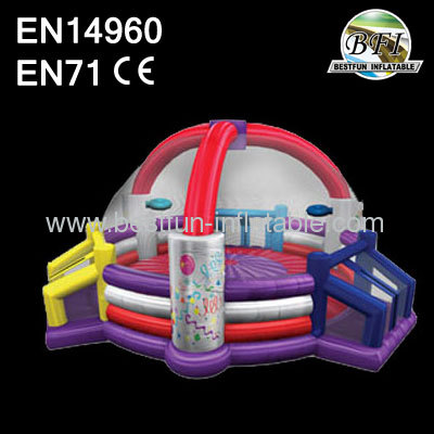 Commercial Kids Inflatable Triple Defender Dome