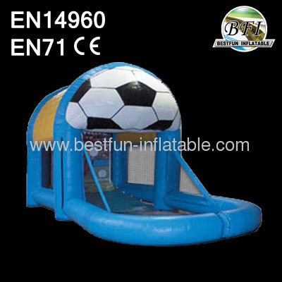 Football Game Inflatable Deluxe Sports Cage