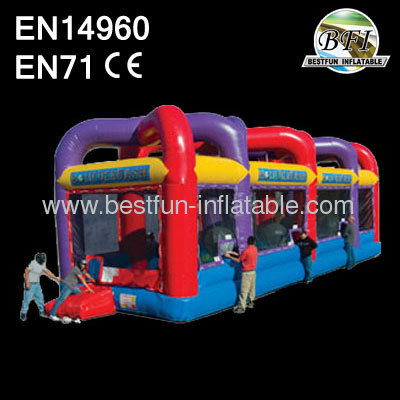 Inflatable Boulderdash Game For Kids And Adults