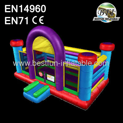24' Inflatable Wacky Basketball Bouncer