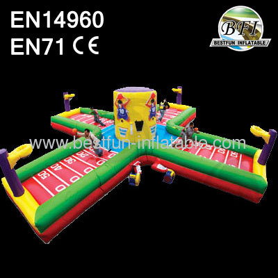 Multifuncity Inflatable Wacky 4 Man Equalizer